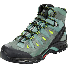 Salomon Quest Prime GTX Schoenen Heren, balsam green/urban chic/lime green